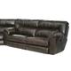 Catnapper Nolan Extra Wide Reclining Sofa in Godiva