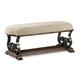 A.R.T. La Viera Bench in Chestnut 225149-2107