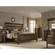 A.R.T La Viera 4pc Panel Bedroom Set in Chestnut