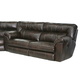Catnapper Nolan Power Extra Wide Reclining Sofa in Godiva
