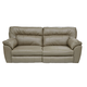 Catnapper Nolan Power Extra Wide Reclining Sofa in Putty