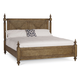 A.R.T Pavilion Eastern King Poster Bed without Canopy in Rustic Pine 229156-2608