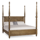 A.R.T Pavilion Eastern King Poster Bed with Posts in Rustic Pine 229156-2608K2