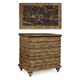 A.R.T. Pavilion Bedside Chest in Rustic Pine 229142-2608