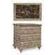 A.R.T. Pavilion Bedside Chest in Bisque 229142-2632