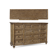 A.R.T. Pavilion 12 Drawer Dresser in Rustic Pine 229130-2608