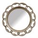 A.R.T. Pavilion Round Mirror in Bisque 229121-2632