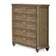 A.R.T. Pavilion 5 Drawer Chest in Rustic Pine 229150-2608