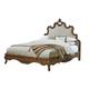 Fine Furniture Biltmore Collector's Room Queen Tyrolean Upholstered Bed in Heirloom