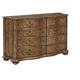Fine Furniture Biltmore Collector's Room Passages Double Dresser in Heirloom 1450-144