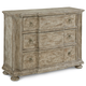 A.R.T. Pavilion 3 Drawer Accent Chest in Bisque 229397-2632