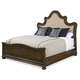 A.R.T Firenze II California King Upholstered Panel Bed in Rich Canella 259137-2304