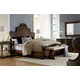 A.R.T Firenze II 4pc Panel Bedroom Set in Rich Canella