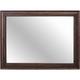 Broyhill Furniture Cranford Chesser Mirror in Deep-Brown 4800-236