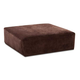Jackson Furniture Everest Cocktail Ottoman in Chocolate