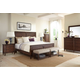 Broyhill Furniture Cranford 4-Piece Panel Bedroom Set in Deep-Brown 4800PSET