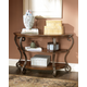 Nestor Sofa Table in Medium Brown