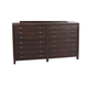 Coaster Donny Osmond Home Lanchester  8 Drawer Dresser in Acacia Cocoa 204293