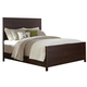 Coaster Donny Osmond Home Lanchester Queen Panel Bed in Acacia Cocoa 204291Q