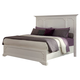 Coaster Donny Osmond Home Furiani Eastern King Panel Bed in White 203351KE