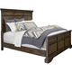 Broyhill Furniture Pike Place Queen Panel Bed in Oak
