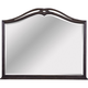 Broyhill Furniture Cashmera Dresser Mirror in Rich Truffle Brown 4860-236