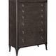 Broyhill Furniture Cashmera Drawer Chest in Rich Truffle Brown 4860-240