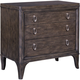 Broyhill Furniture Cashmera 2 Drawer Night Stand in Rich Truffle Brown 4860-292