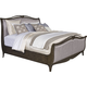Broyhill Furniture Cashmera King Sleigh Bed in Rich Truffle Brown