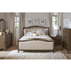 Broyhill Furniture Cashmera Sleigh Bedroom Set in Rich Truffle Brown 4860BSET