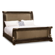 A.R.T Gables California King Upholstered Sleigh Bed in Cherry 245147-1707