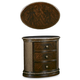 A.R.T Gables Oval Nightstand in Cherry 245141-1707