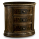 A.R.T Gables Wood Oval Nightstand in Cherry 245143-1707