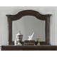A.R.T Gables Landscape Mirror in Cherry 245121-1707