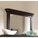 Broyhill Furniture Jessa Pillar Chesser Mirror in Acacia 4980-236