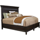 Broyhill Furniture Jessa California King Panel Bed in Acacia
