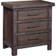 Broyhill Furniture Larimer Square Strong Box Nightstand in Distressed 5915-293