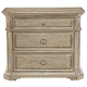 Bernhardt Campania 3 Drawer Bachelor's Chest in Weathered Sand 370-230