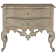 Bernhardt Campania 2 Drawer Nightstand in Weathered Sand 370-216