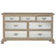 Bernhardt Campania 7 Drawer Dresser in Weathered Sand 370-052