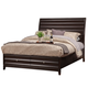 Alpine Furniture Legacy King Storage Bed with Drawers in Black Cherry 1788-87EK