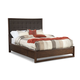 Cresent  Fine Mercer Queen Upholstered Bed in Graphite 5332