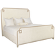 Bernhardt Savoy Place King Upholstered Bed in Chanterelle