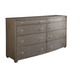 Stanley Coastal Living Oasis Ocean Park Dresser in Grey Birch 527-63-06