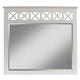 Alpine Furniture Potter Mirror in White 955-06