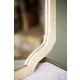 Bernhardt Savoy Place Raffia Mirror in Ivory 371-322