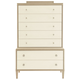 Bernhardt Savoy Place 7 Drawer Chest on Chest in Chanterelle 371-119A