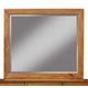Alpine Furniture Flynn Mirror in Acorn 966-06
