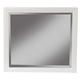 Alpine Furniture Flynn Mirror in White 966-W-06