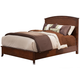 Alpine Furniture Baker King Panel Bed in Mahogany 977-07EK